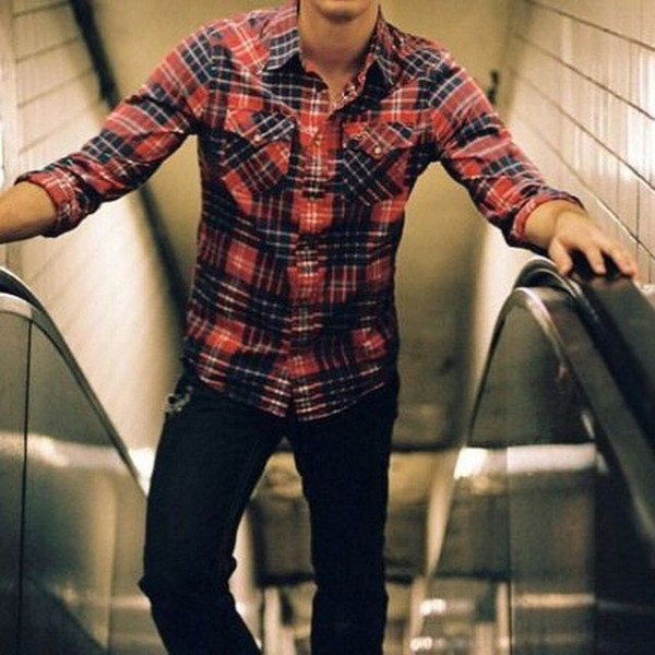 Flannel & Skinny Jeans