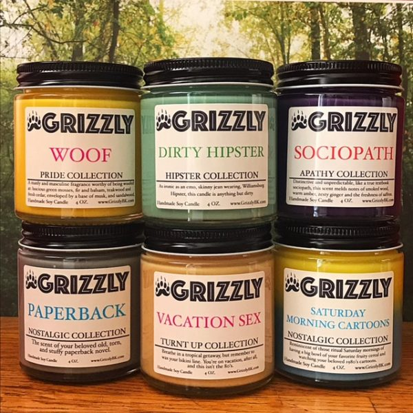 Grizzly Mini's Candle Gift Set- Pick 6